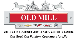 Old Mill Cadillac Chevrolet Buick GMC  Logo