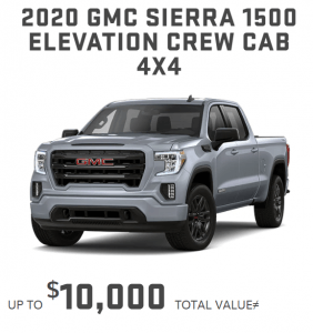2020_GMC_Sierra_1500 specials offers Toronto Markam Old Mill GM
