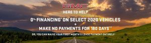 Toronto's GMC Offers Specials Promotions at Old Mill GM