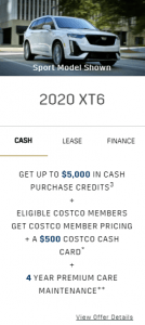 2020 Cadillac XT6 Cash Offer Toronto Old Mill GM